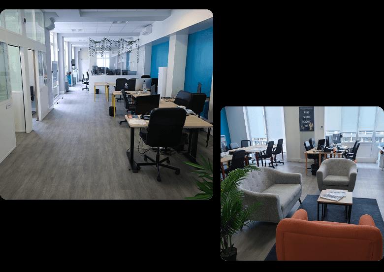 Photo de nos bureaux